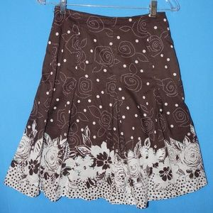 Cute HAROLD's Summer Fun VOILE full skirt